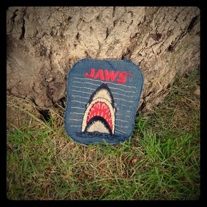 Vintage 1970s Jaws denim patch